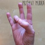 Prithvi-Mudra